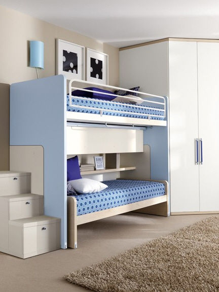 Letto A Castello Doimo.Bunk Bed Single Contemporary Child S 906 Doimo Cityline