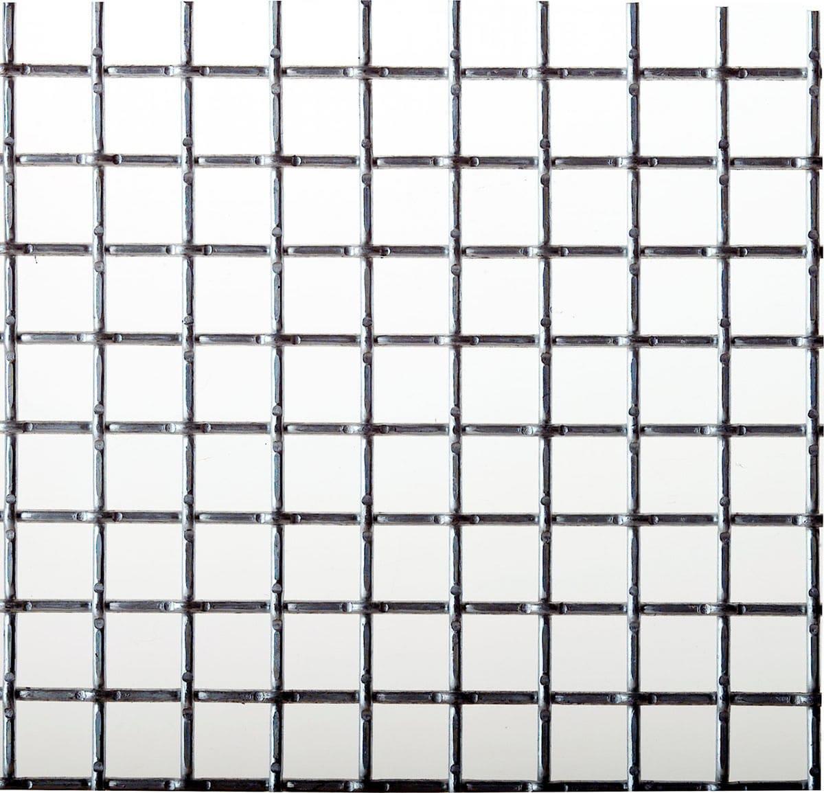 Facade woven wire fabric / aluminum / square mesh - BOSTON 705 ...