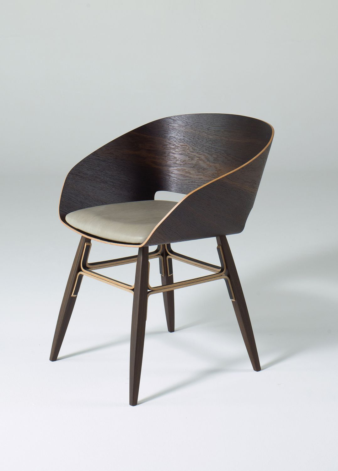 Contemporary Chair / Wooden ...