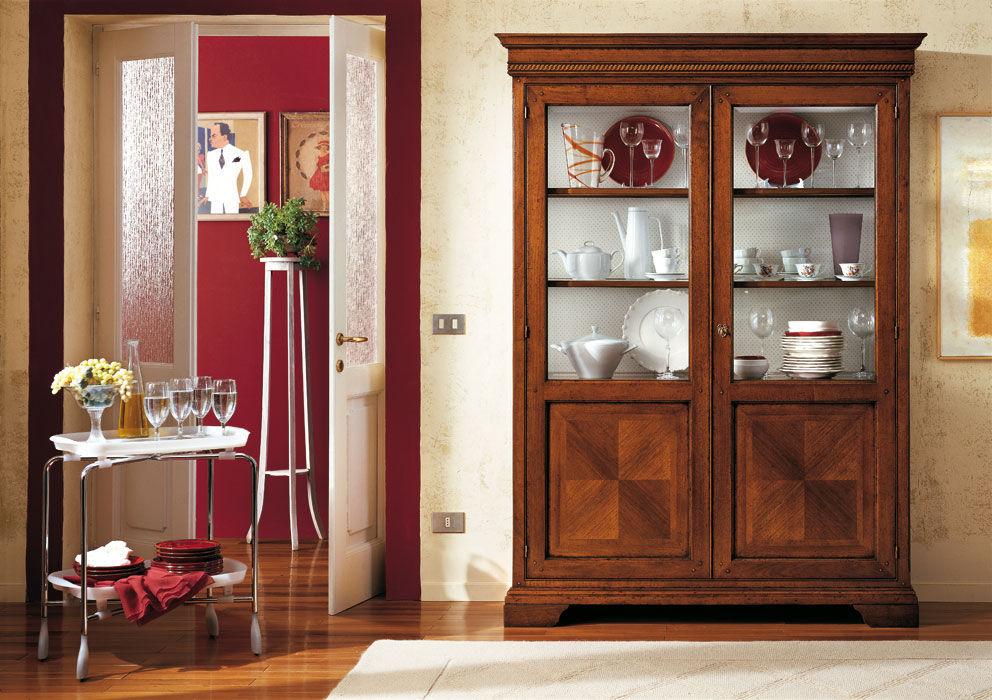 Traditional china cabinet / wooden - GIORGIONE - F.M. ...