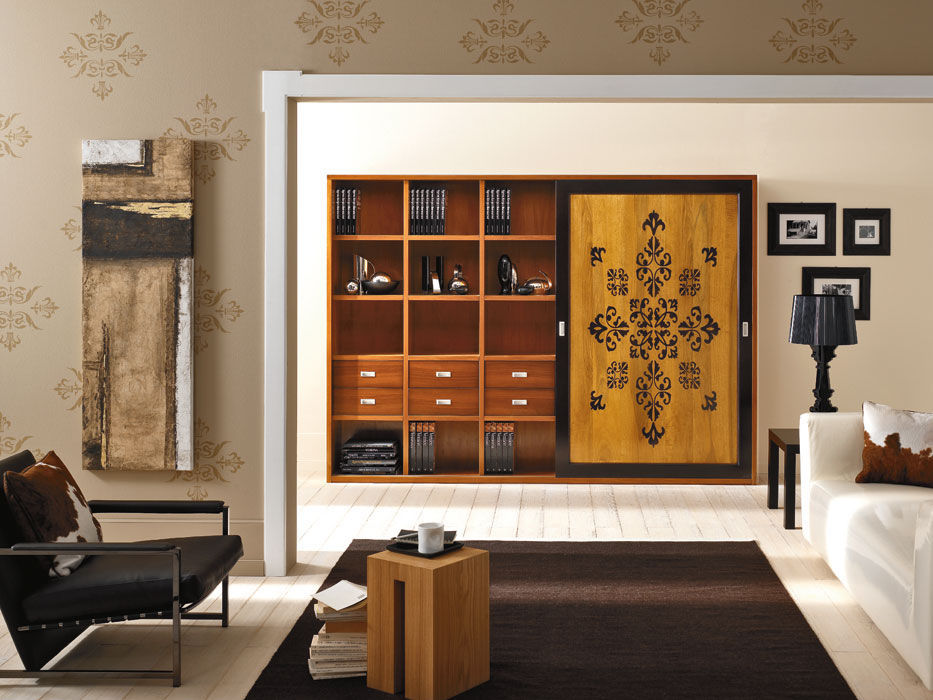 Traditional bookcase / wooden - PALLADIO CONTEMPORANEO ...
