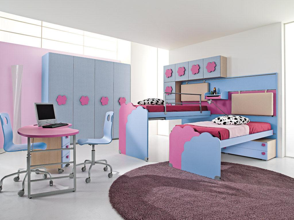 Chambre Fille Rose Et Gris Clair: Idees design chambre enfant ...