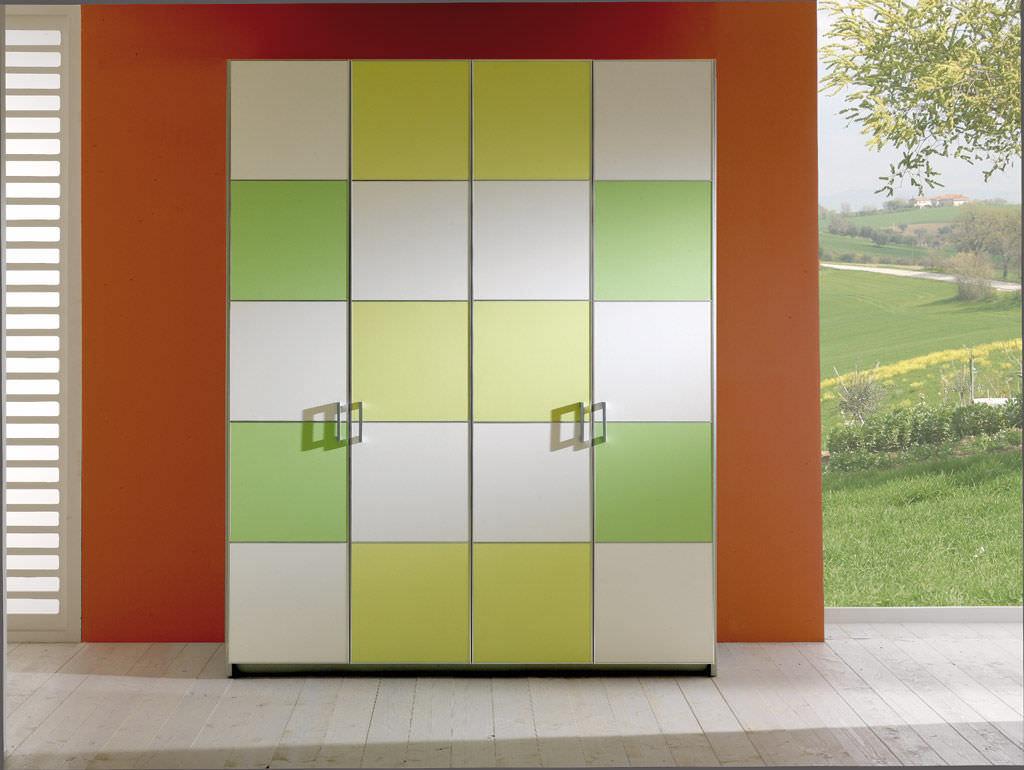 Genial ... Contemporary Wardrobe / Wooden / With Swing Doors / Childu0027s ...