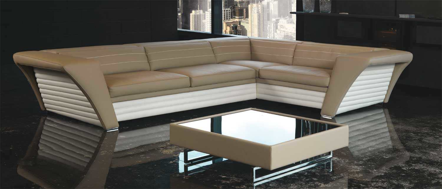 Corner Sofa / Contemporary / Leather / 5 Seater AVATAR Formenti ...