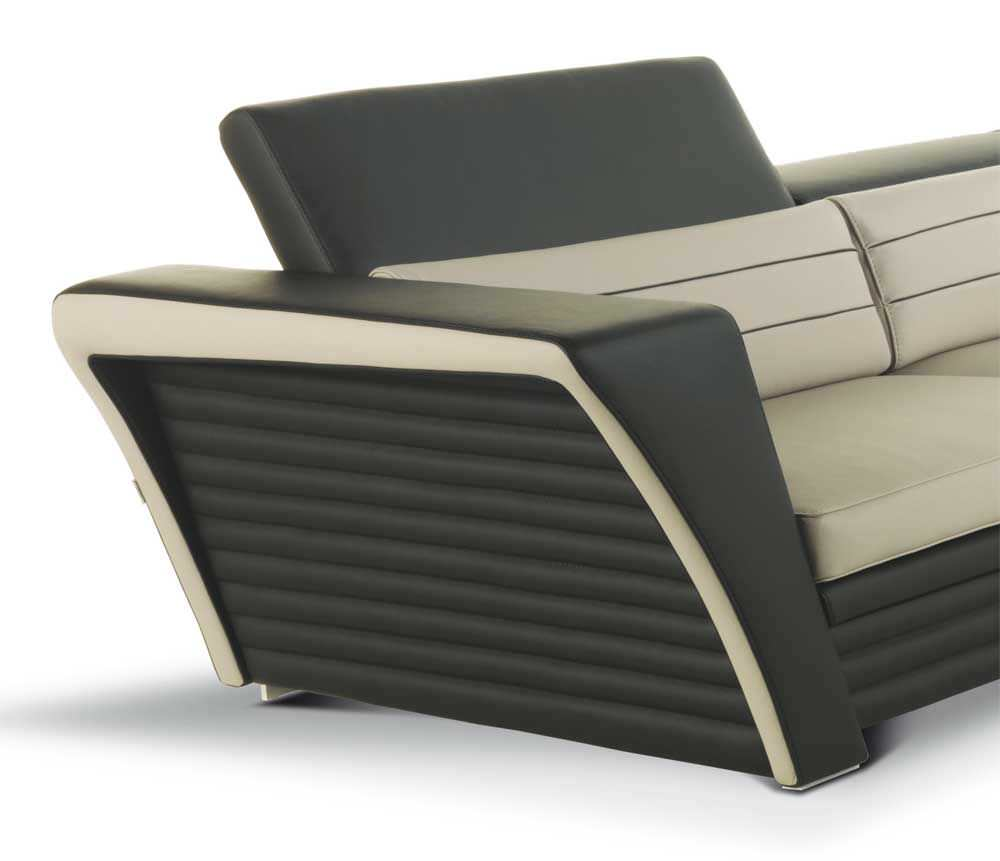 Das modulare ledersofa heart formenti  Corner sofa / contemporary / leather / 5-person - AVATAR - Formenti