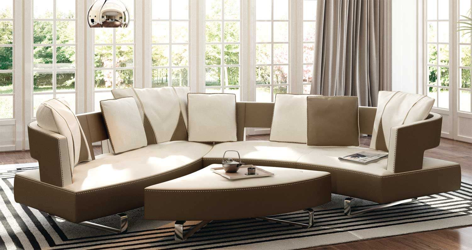 ... Modular Sofa / Contemporary / Leather / 5 Seater HEART Formenti ...