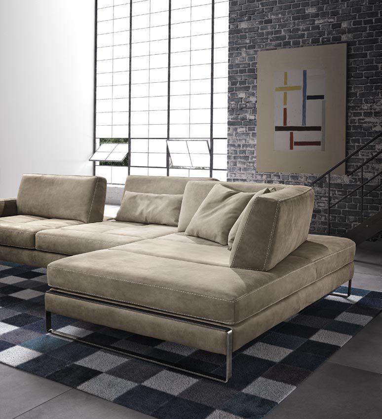 ... Modular Sofa / Contemporary / Leather / 2 Person ...