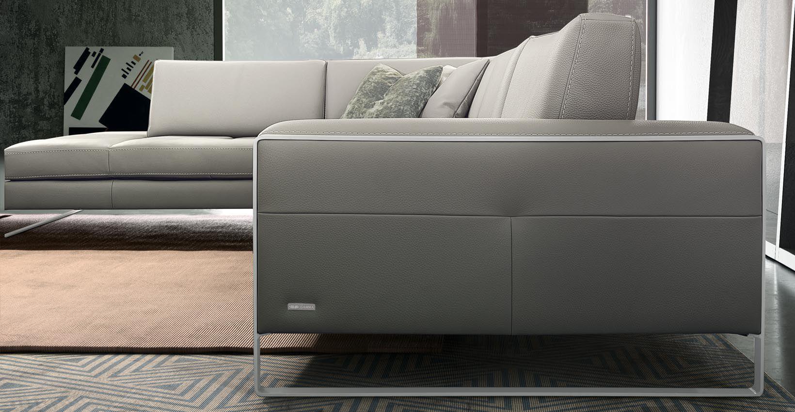 ... Modular Sofa / Contemporary / Leather / 2 Person