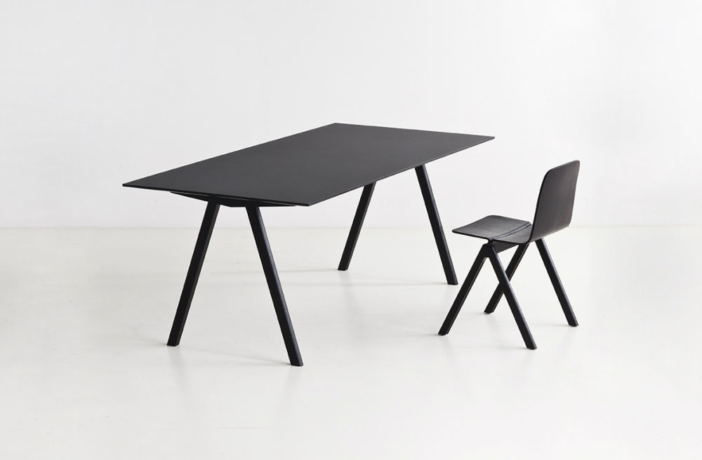 Oak Desk Scandinavian Design By Ronan Erwan Bouroullec