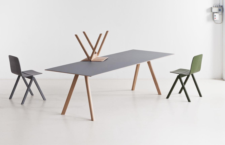 Dining table / contemporary / oak / linoleum - COPENHAGUE : CPH30 ...