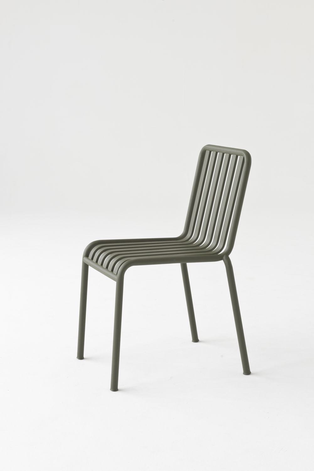 ... Contemporary Dining Chair / Galvanized Steel / Outdoor / Commercial