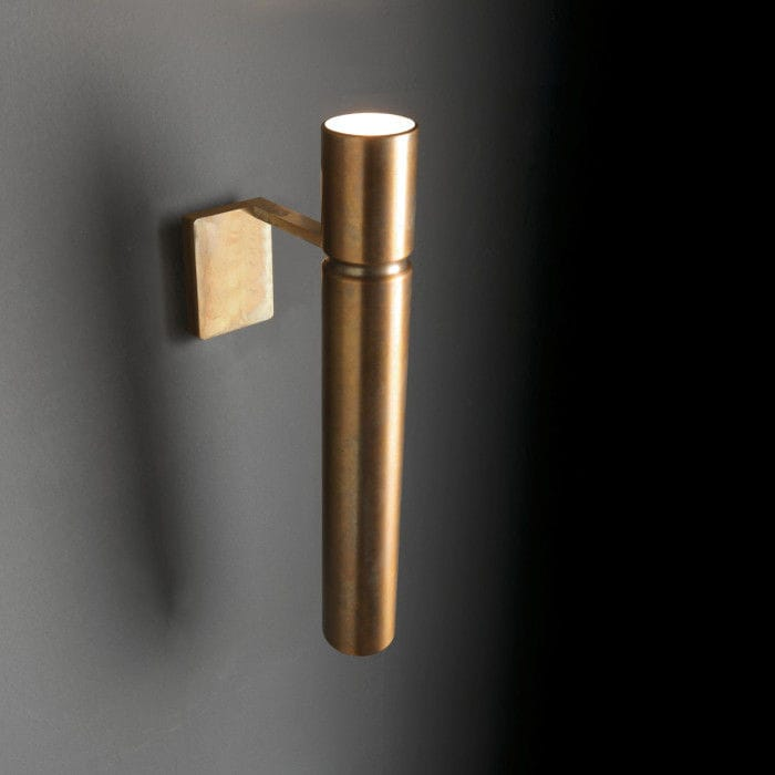 Contemporary wall light / brass / LED / tubular by Massimo Castagna Henge & Contemporary wall light / brass / LED / tubular - by Massimo ... azcodes.com
