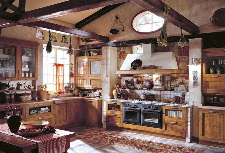 Traditional kitchen / solid wood / wooden - ERIKA COUNTRY : DM0290 ...