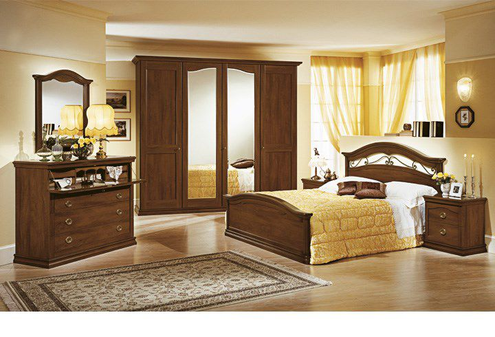 Double bed / traditional / wooden - CAMELIA - pensarecasa.it