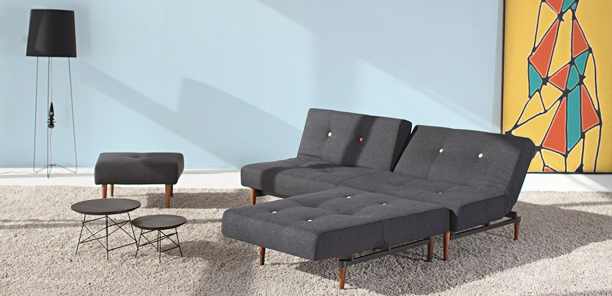 Bon ... Corner Sofa / Bed / Contemporary / Fabric ...