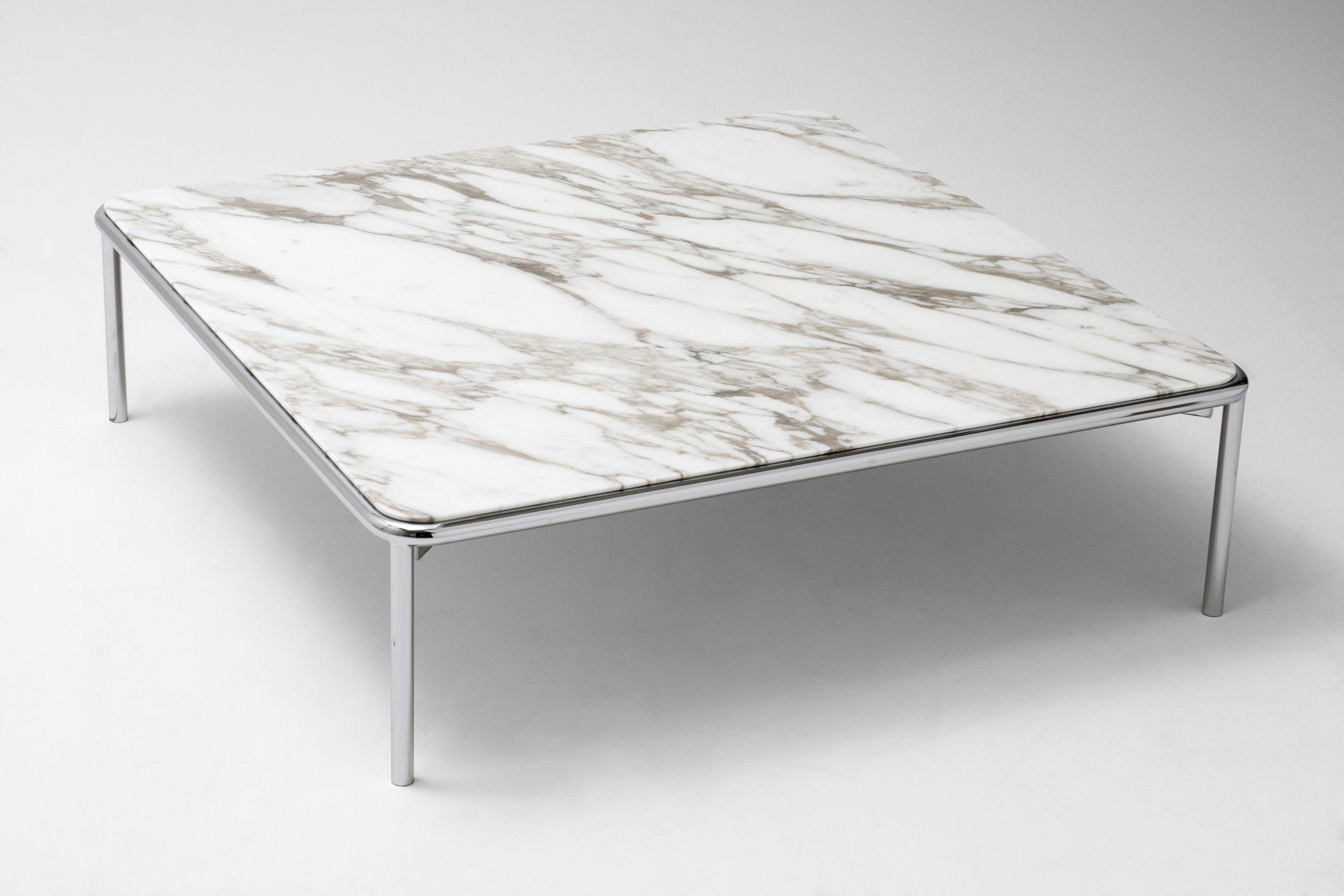 Contemporary coffee table steel marble lacquered MDF UP by