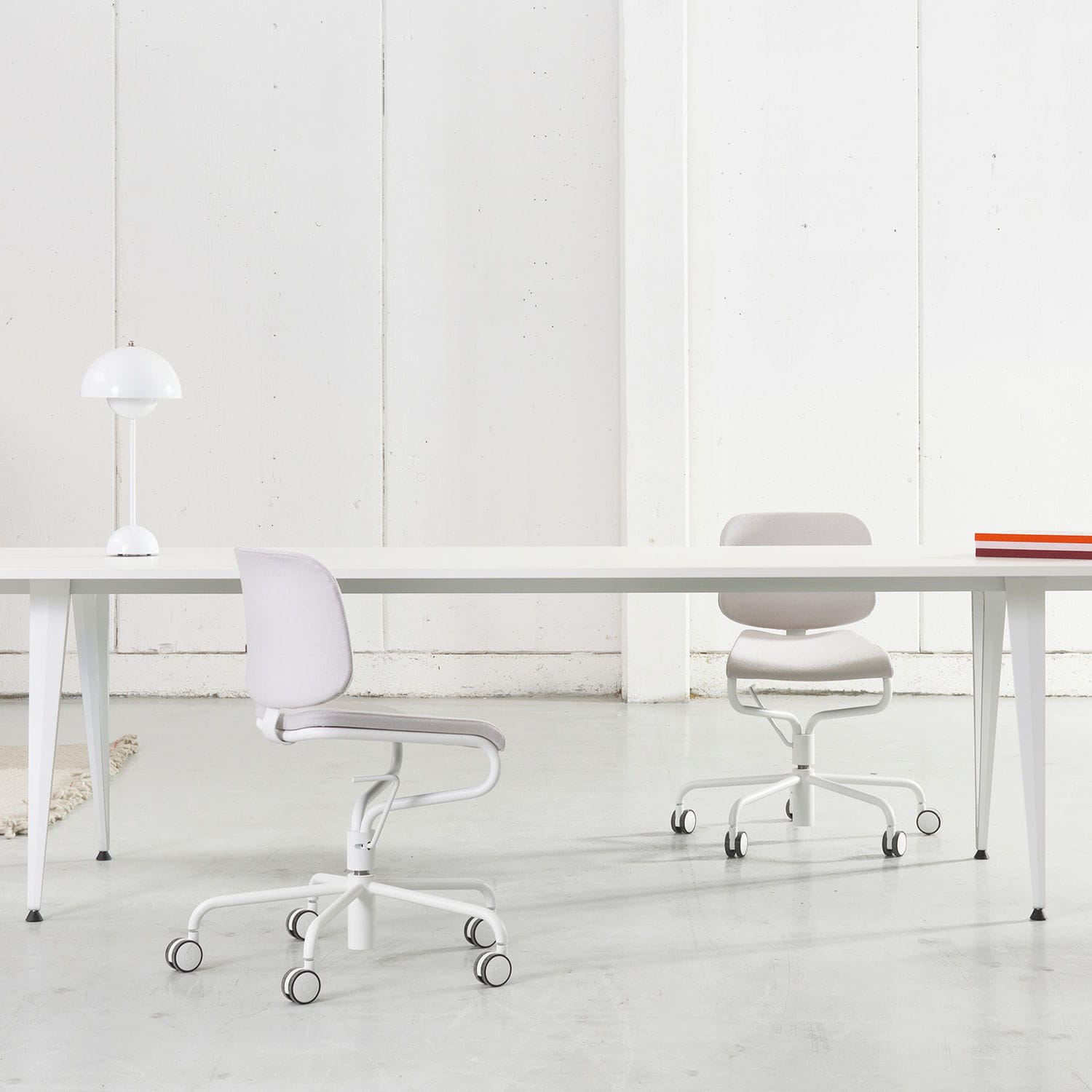 Merveilleux Contemporary Office Chair / Upholstered / On Casters / Swivel   ADD WORK By  Anya Sebton
