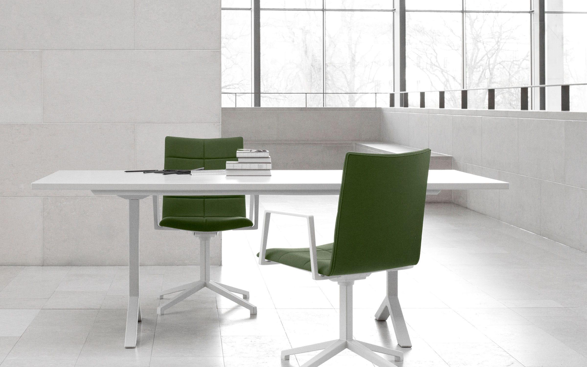 Contemporary Boardroom Table Metal Ash Melamine FUNK By - Small boardroom table