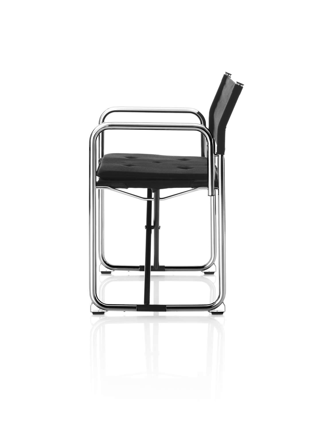 Möbel Lindau contemporary chair with armrests folding fabric x75 2 by