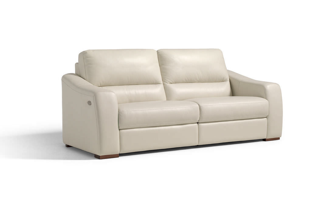 Contemporary Sofa / Leather / 3 Seater / With Footrest   PEGASO By D.  Abbruzzese