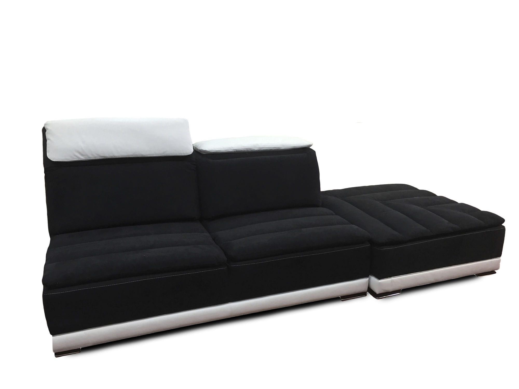 corner sofa fabric 7 seater and more california nieri - Corner Sofa