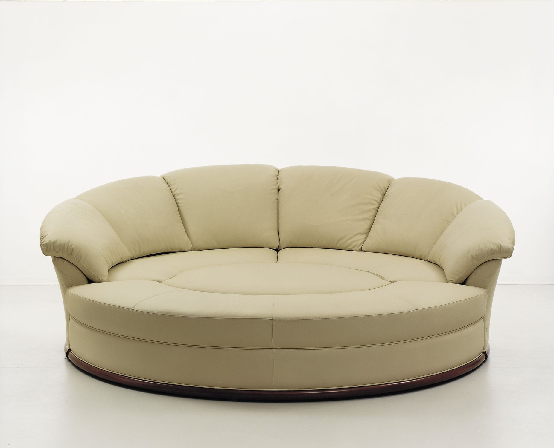 Exceptional ... Round Sofa / Modular / Contemporary / Leather