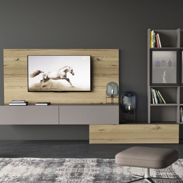 contemporary wall units for living room. contemporary living room wall unit / wood veneer - geovar001 units for