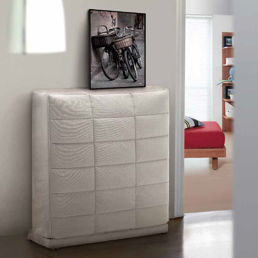Wall bed single contemporary with upholstered headboard wall bed single contemporary with upholstered headboard everynight amipublicfo Images