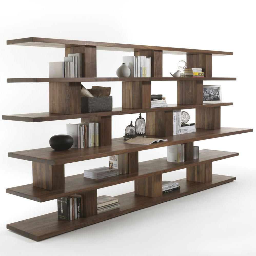 new contemporary bookcase by bookcases doimo style design collection italian bookshelf