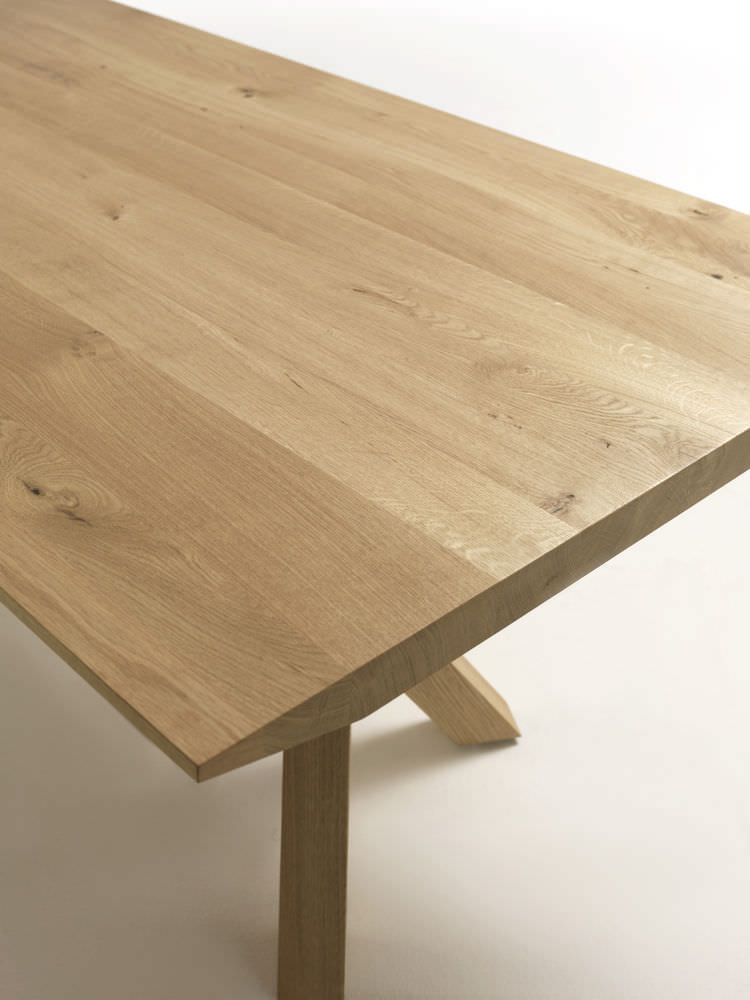 contemporary table / wooden / rectangular - snap by giovanna, Möbel