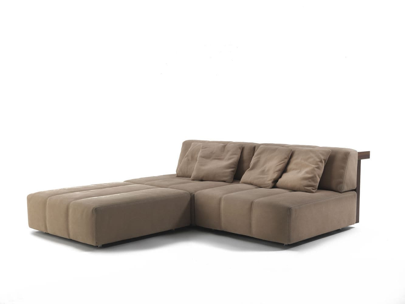 Modular Sofa / Contemporary / Leather / 3 Seater FUR NATURE By Jamie Durie  Riva ...