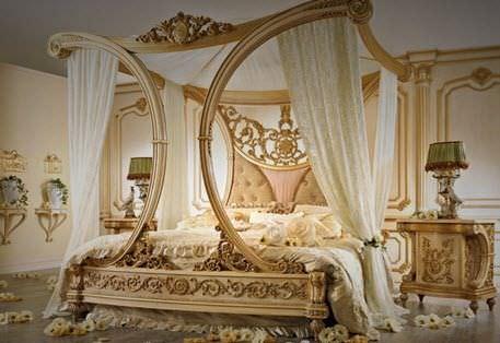 Canopy bed / double / classic / fabric - RAFFLES & Canopy bed / double / classic / fabric - RAFFLES - Riva Mobili Du0027Arte