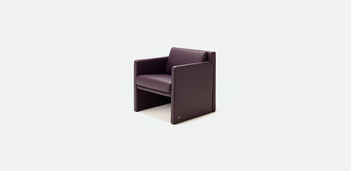 bridge armchair contemporary leather ego by edgar reuter rolf benz ag kg armchairs seating rolf benz