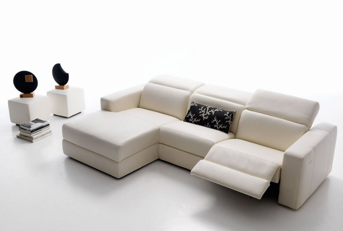 Perfect Contemporary Sofa / Leather / Fabric / 2 Seater   ANCONA