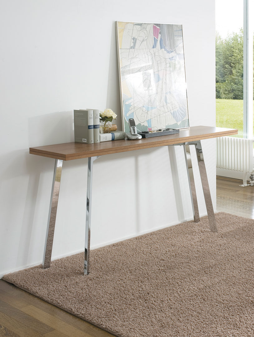 Contemporary Sideboard Table Wooden Rectangular Folding Ark