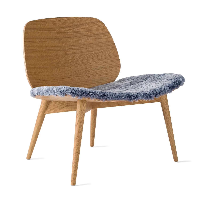 ... Contemporary Fireside Chair / Oak ...
