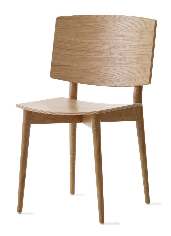 Scandinavian design chair / wooden - S-050 by Jonas Lindvall ...