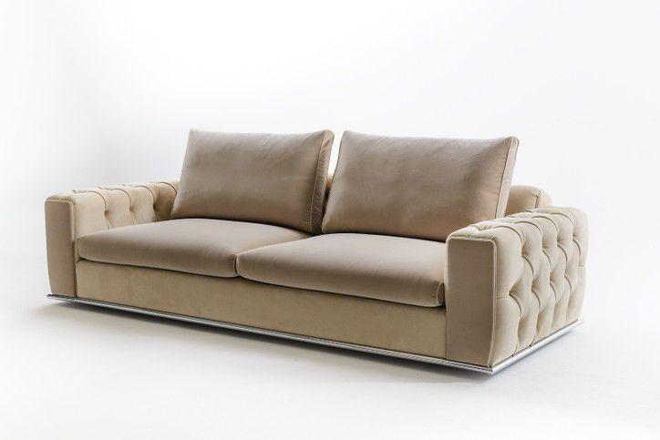 ... Contemporary Sofa / Fabric / 3 Seater / 2 Seater VANITY GOLD Sormani ...