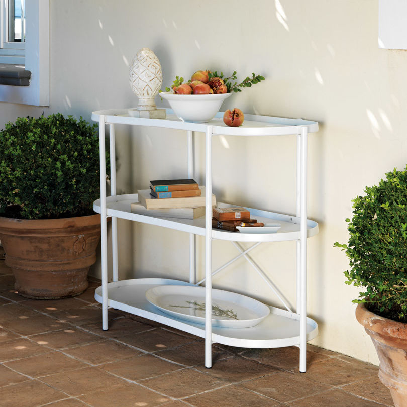 Traditional Shelf / Metal / Garden   ET12550