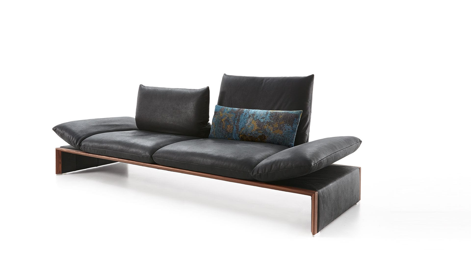 ... Corner Sofa / Traditional / Leather / Solid Wood ...