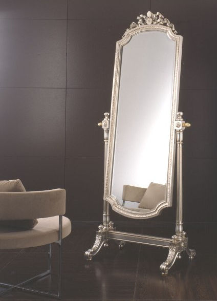 Free-standing mirror / tilting / classic / golden - ART.803 ...
