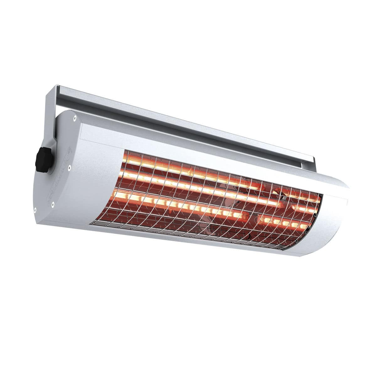Wall-mounted infrared heater / ceiling / electric / commercial ...