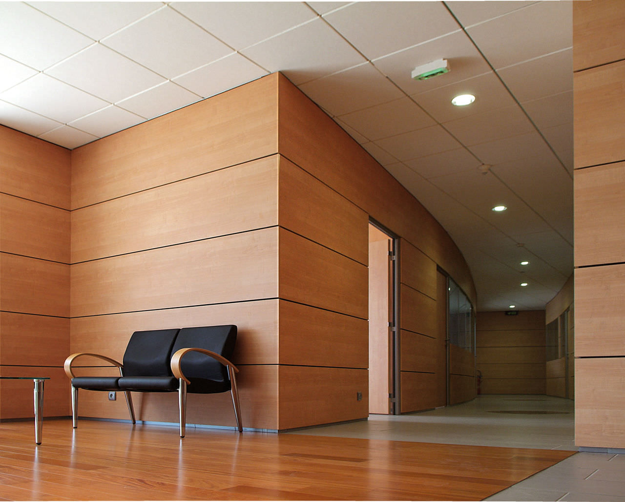 ... Removable partition / wooden / for offices S9 Clipper ...