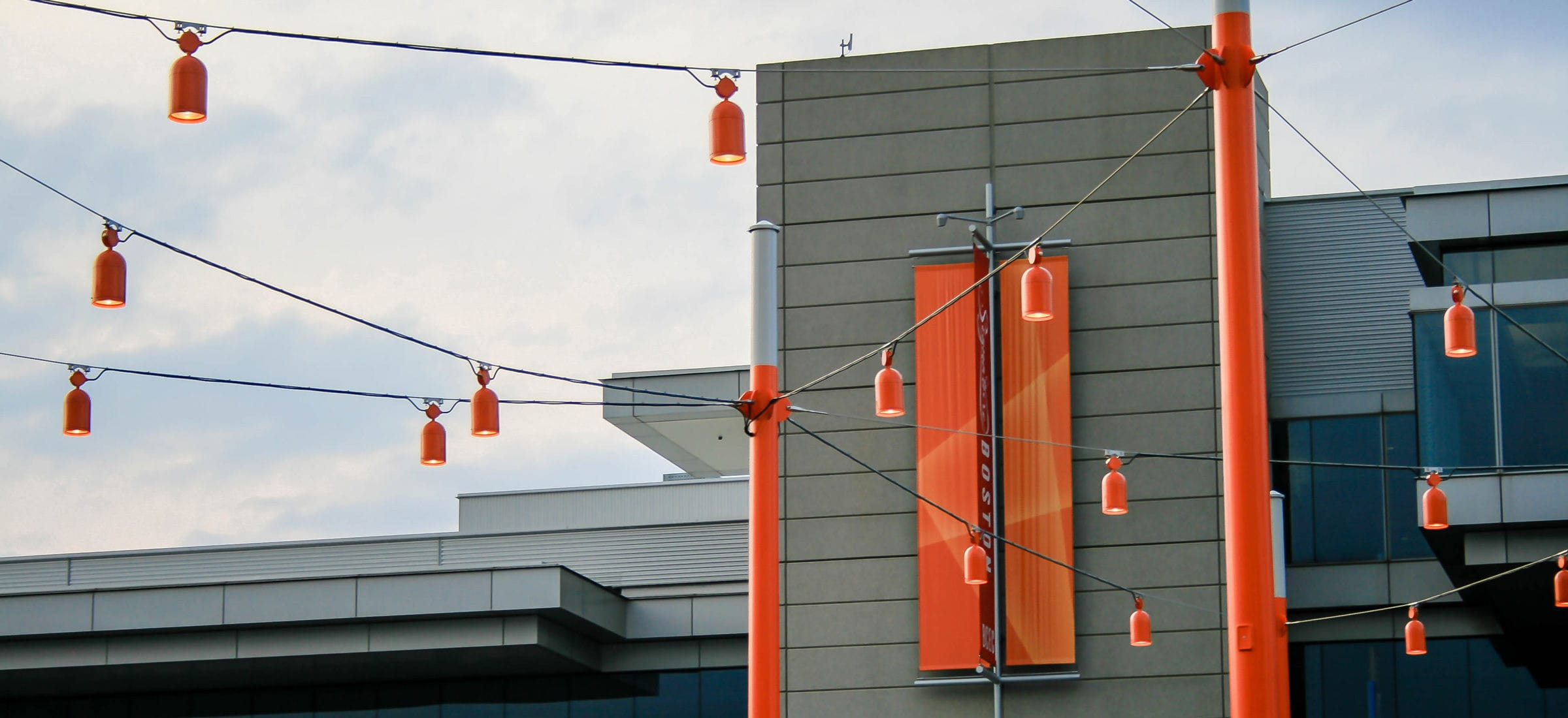 LED cable lighting / linear / outdoor / for public areas - BOSTON ...:... LED cable lighting / linear / outdoor / for public areas BOSTON  CONVENTION CENTER RONSTAN,Lighting