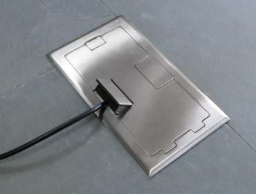 Perfect Built In Electrical Box / Floor Mounted / For Sockets   R1X