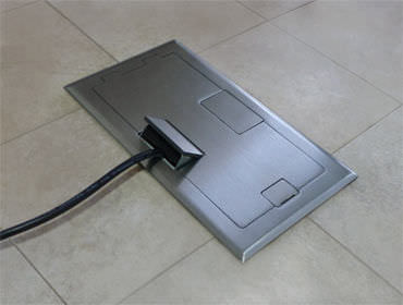 Amazing ... Built In Electrical Box / Floor Mounted / For Sockets C1X : C12 FBS