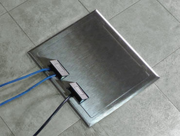 Attractive Built In Electrical Box / Floor Mounted / For Sockets C2X FBS   Floor ...