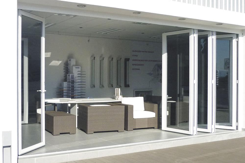 Folding Patio Door Pvc Double Glazed Solar Innovations Inc