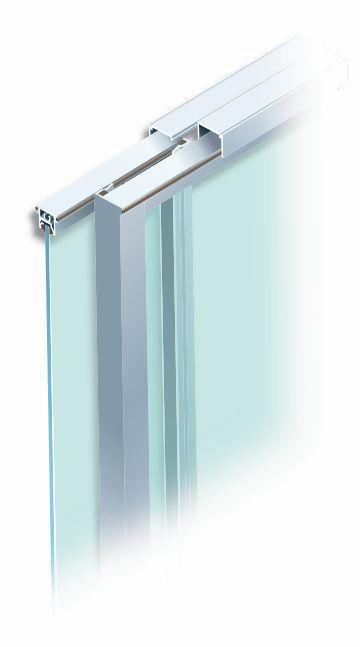 Glass sliding door system - MS 360™