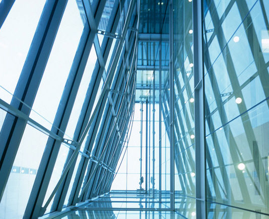Panel curtain wall / metal and glass - 80-100 VICTORIA STREET by ...